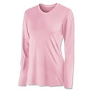 Nike Women's Long Sleeve Legend Shirt (Pink)