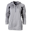 Nike Women's Core Fleece 1/4 Zip (Sv/Bk)