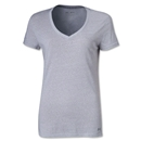 Under Armour Women's Charged Cotton Undeniable T-Shirt (Gray)