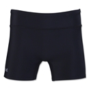 Under Armour Women's Authentic 4 Compression Short (Black)
