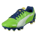 PUMA evoSPEED 5 FG Junior (Jasmine Green/White/Monaco Blue)