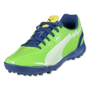PUMA evoSPEED 5 IT Junior (Jasmine Green/White/Monaco Blue/Fluo Yellow)