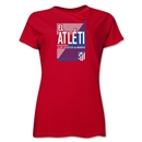 Atletico Madrid El Atleti Women's T-Shirt (Red)