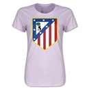 Atletico Madrid Crest Women's T-Shirt (Pink)