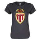AS Monaco Women's Soccer T-Shirt (Dark Grey)