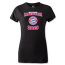 Bayern Munich 2013 Women's Deutscher Meister T-Shirt (Black)