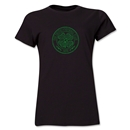 Celtic Distressed Women's T-Shirt (Black)