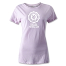 Chelsea Women's Distressed Soccer T-Shirt (Pink)