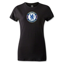 Chelsea Crest Women's T-Shirt (Black)
