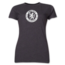 Chelsea Distressed Emblem Women's T-Shirt (Dark Gray)