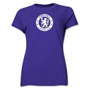 Chelsea Emblem Women's T-Shirt (Purple)