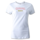 CONCACAF Gold Cup 2013 Women's Canada T-Shirt (White)