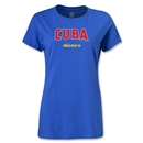 CONCACAF Gold Cup 2013 Women's Cuba T-Shirt (Royal)