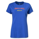 CONCACAF Gold Cup 2013 Women's Costa Rica T-Shirt (Royal)