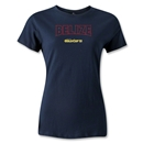 CONCACAF Gold Cup 2013 Women's Belize T-Shirt (Navy)