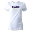CONCACAF Gold Cup 2013 Women's Belize T-Shirt (White)
