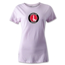 Charlton Athletic Crest Women's T-Shirt (Pink)