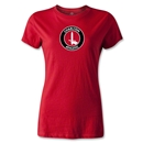 Charlton Athletic Crest Women's T-Shirt (Red)