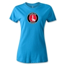 Charlton Athletic Crest Women's T-Shirt (Turquoise)