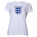 England Core Women's T-Shirt (White)