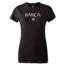Barcelona 3D Women's T-Shirt (Black)