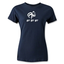 France FFF Women's T-Shirt (Navy)
