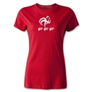France FFF Women's T-Shirt (Red)