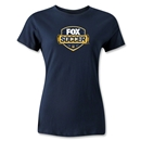 Fox Soccer Women's T-Shirt (Navy)