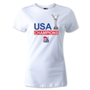 FIFA U-20 Women's World Cup Champions Women's T-Shirt (White)