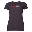 Grassroot Soccer Women's T-Shirt (Dark Gray)