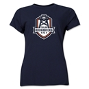 Tulsa Roughnecks FC Soccer Women's T-Shirt (Navy)