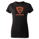 Jaguares de Chiapas Distressed Women's T-Shirt (Black)