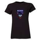 Orange County Blues Soccer Women's T-Shirt (Black)