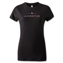 Juventus Women's Soccer T-Shirt (Black)