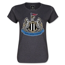Newcastle United Crest Women's T-Shirt (Dark Gray)