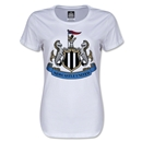 Newcastle United Crest Women's T-Shirt (White)