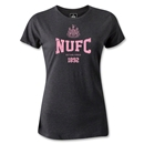 Newcastle United NUFC Women's T-Shirt (Dark Gray)