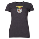 Benfica Women's Soccer T-Shirt (Dark Grey)