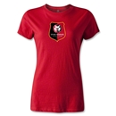 Stade Rennais FC Crest Women's T-Shirt (Red)