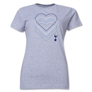 Tottenham Heart Women's T-Shirt (Gray)