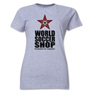 WorldSoccerShop Powered by Passion Women's T-Shirt (Grey)