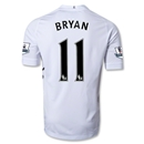Fulham 12/13 BRYAN Authentic Home Soccer Jersey