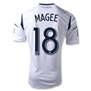 LA Galaxy 2013 MAGEE Authentic Primary Soccer Jersey