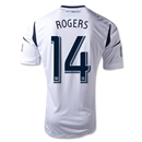 LA Galaxy 2013 ROGERS Authentic Primary Soccer Jersey