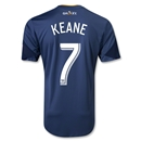 LA Galaxy 2013 KEANE Authentic Secondary Soccer Jersey