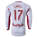 New York Red Bulls 2014 CAHILL LS Authentic Primary Soccer Jersey