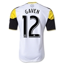 Columbus Crew 2013 GAVEN Authentic Secondary Soccer Jersey