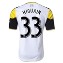 Columbus Crew 2013 HIGUAIN Authentic Secondary Soccer Jersey