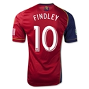 Real Salt Lake 2013 FINDLEY Authentic Primary Soccer Jersey