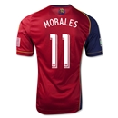 Real Salt Lake 2013 MORALES Authentic Primary Soccer Jersey